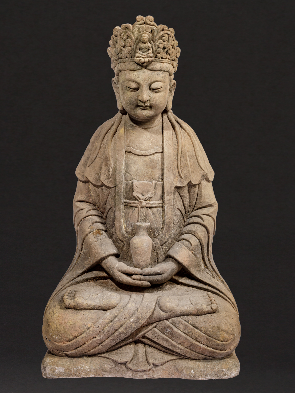 Large Chinese Guanyin Sculpture