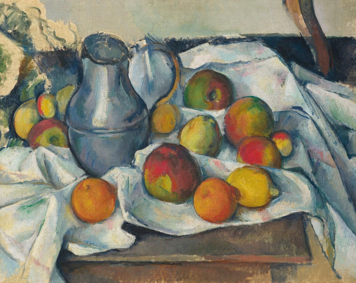 Bouilloire et fruits