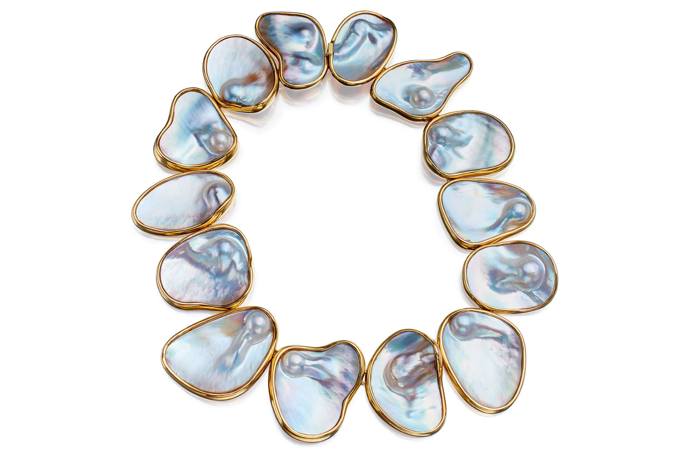 Tony Duquette Mabe pearl necklace