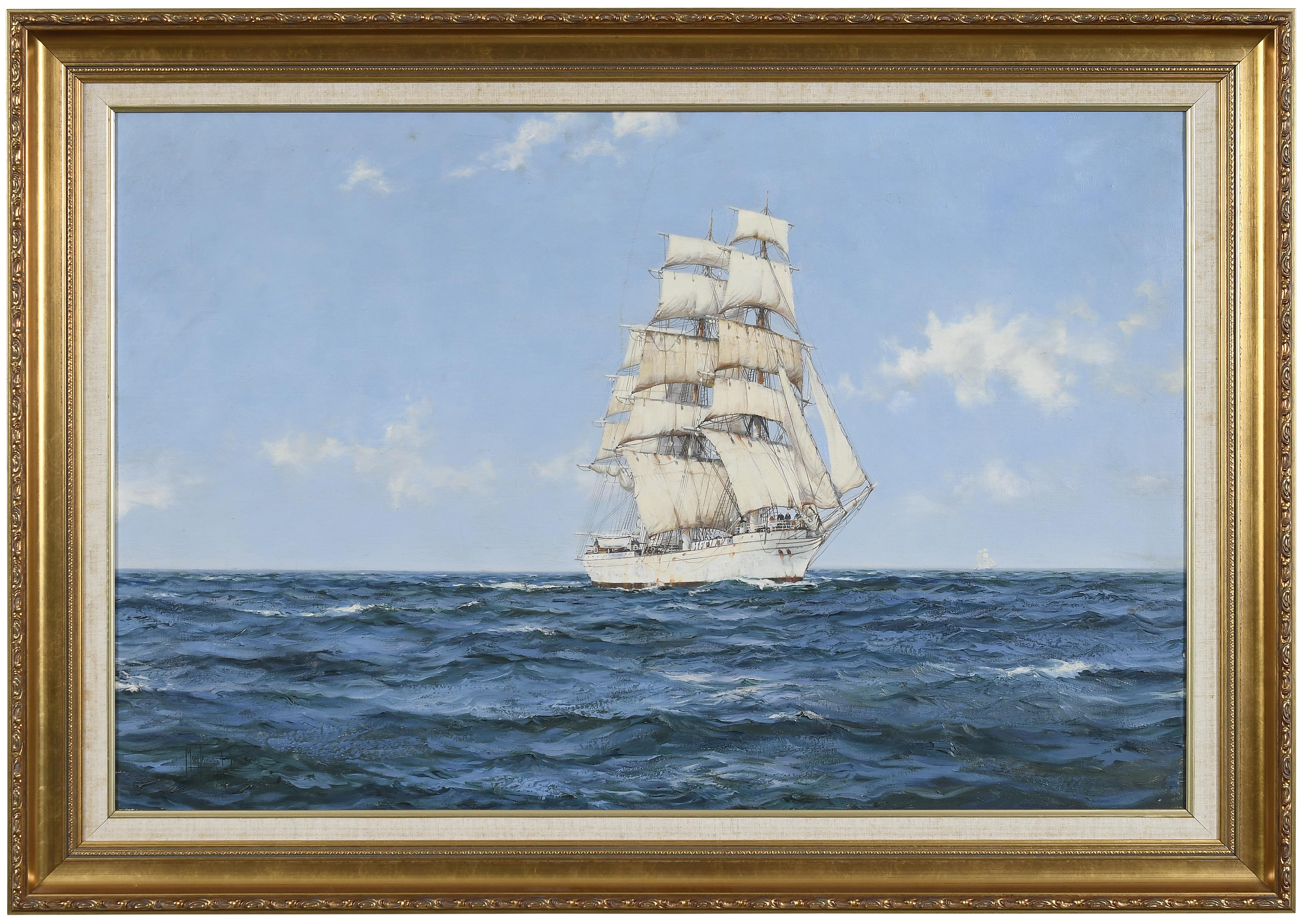 The Tall Ship at Full Sail