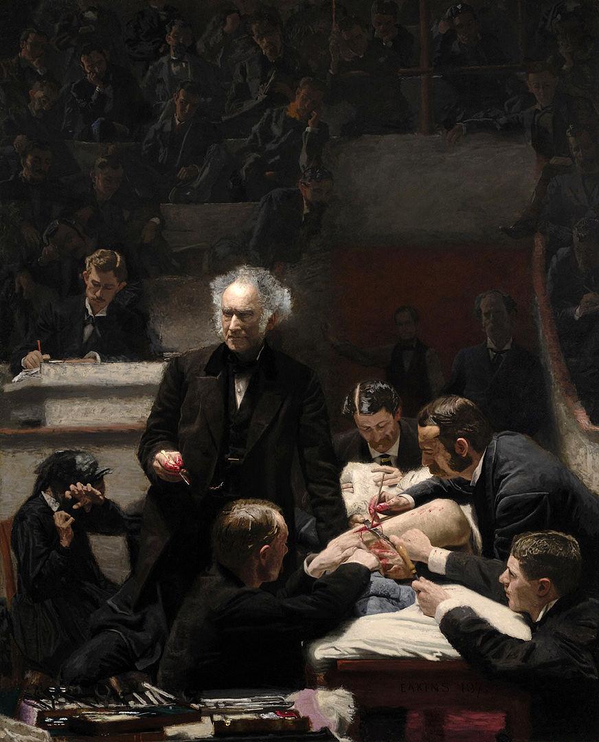 Portrait of Dr. Samuel D. Gross (The Gross Clinic)