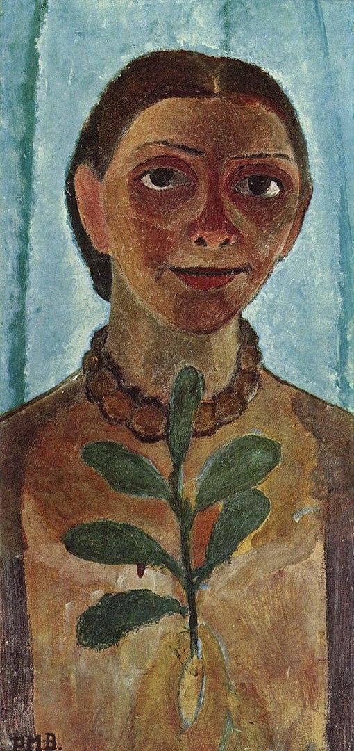 Self-Portrait with Camilla Branch