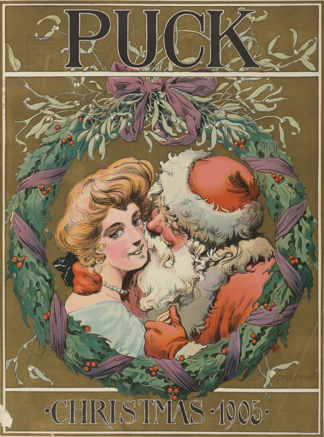 Santa Claus in Puck Magazine