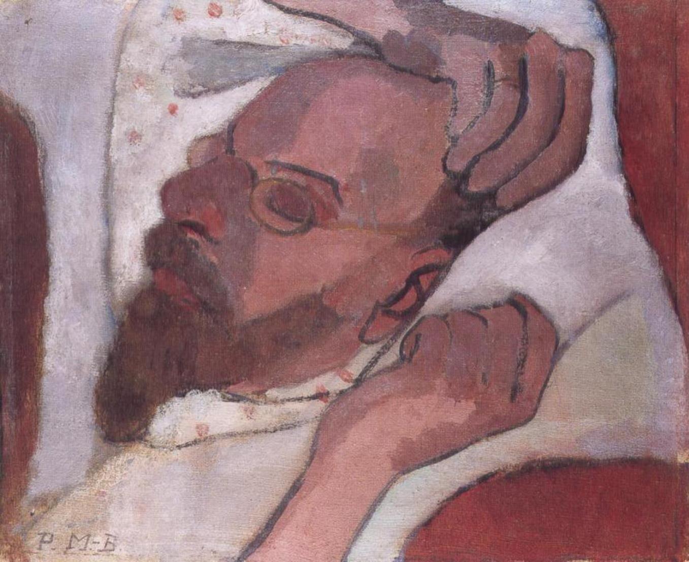 Otto Modersohn Sleeping