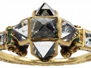The Spitzer Renaissance Point Cut Diamond
