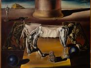 Salvador Dalí, Dormeuse, cheval, lion invisibles (Invisible Sleeping Woman, Horse, Lion), 1930.