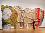 Large-scale el anatsui art work