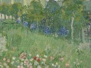 Vincent van Gogh, Daubigny's Garden, Auvers-sur-Oise, June 1890. Oil on canvas.