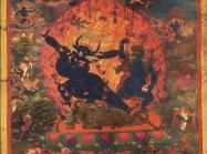 Yama as Dharmaraja, Tibet, late 16th-early 17th century