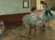 Edgar Degas painting of ballerinas