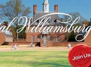Colonial Williamsburg, Join us!