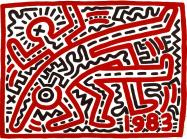 Keith Haring (1958–1990), Untitled, 1983.