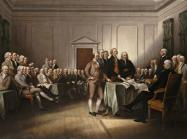 John Trumbull (American, 1756−1843), The Declaration of Independence, July 4, 1776, 1832