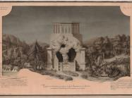 Jean-Jacques Lequeu, Temple of Divination drawing, from Civil Architecture.