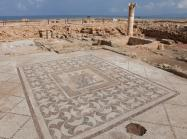 The Three Oras mosaic at the Paphos Archeological Park, Paphos, Cyprus. Continued work at Paphos will be undertaken as part of Ancient Worlds Now