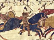 Bayeux Tapestry Detail of knights