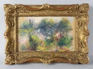 framed Renoir painting