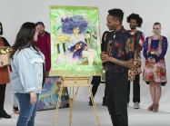 People trying to match art to the artist