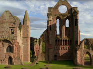 Scottish ruins of abbey