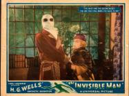 The Invisible Man, Universal, 1933 Lobby Card