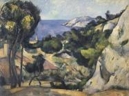 Paul Cézanne. L'Estaque, 1879–83. Oil on canvas.
