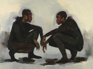Lynette Yiadom-Boakye, No Need of Speech, 2018