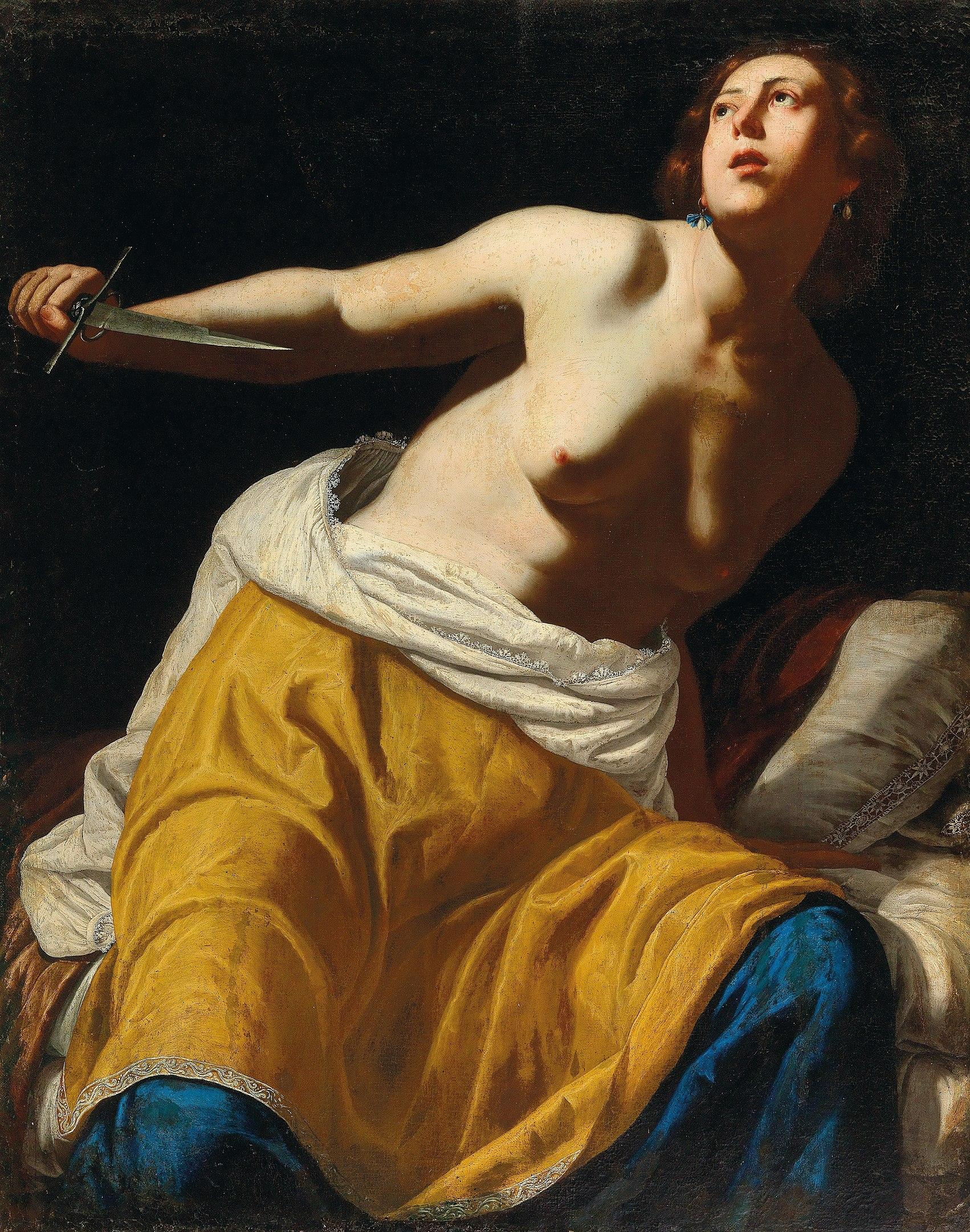 Gentileschi S Lost Lucretia Comes To Auction Art Object