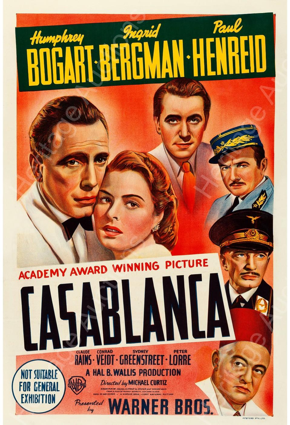 Dracula Casablanca Lead Heritage Auctions Movie Posters