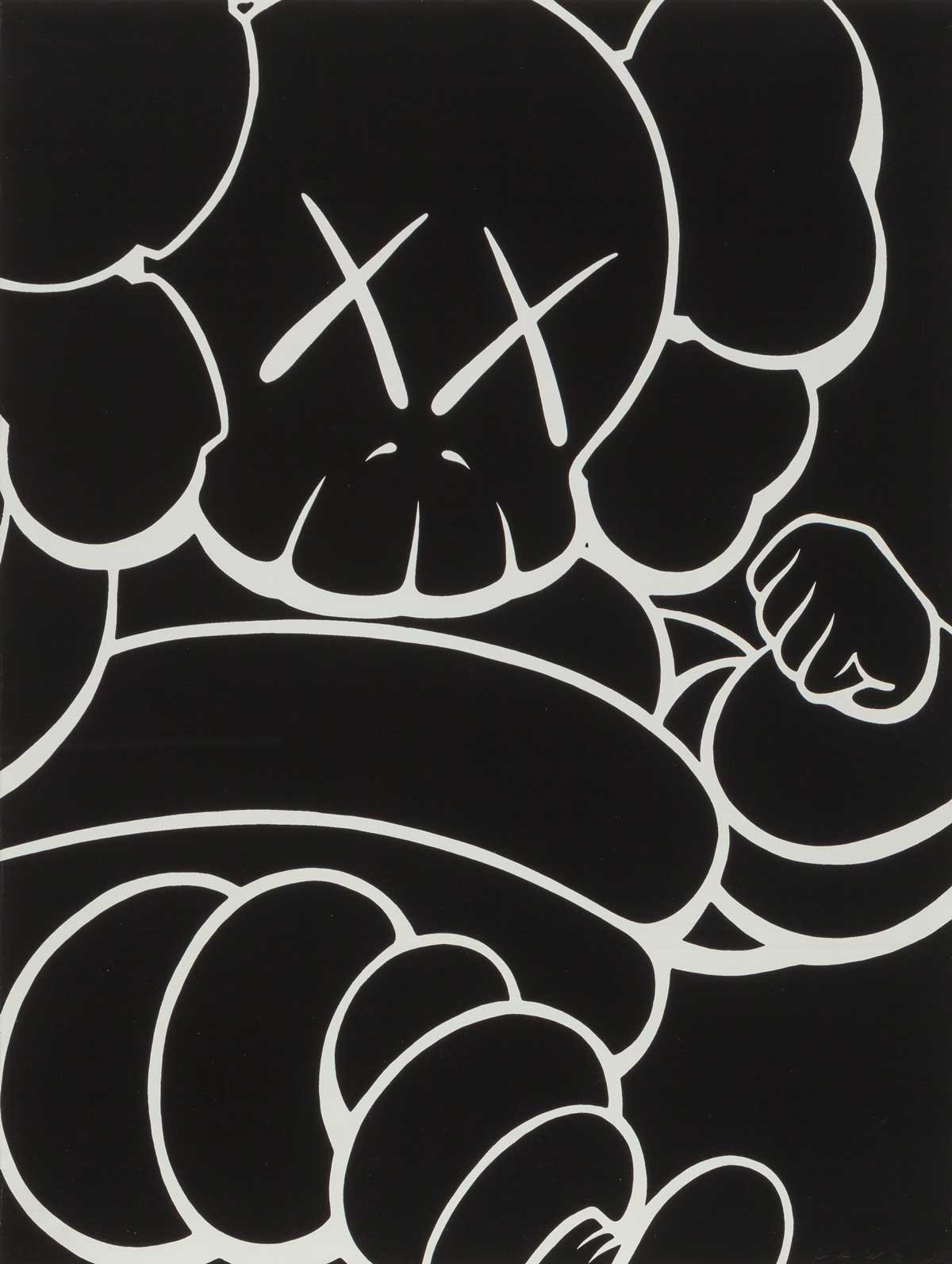 KAWS Artworks Hit Five-Figure Prices in Heritage's Urban Art Auction