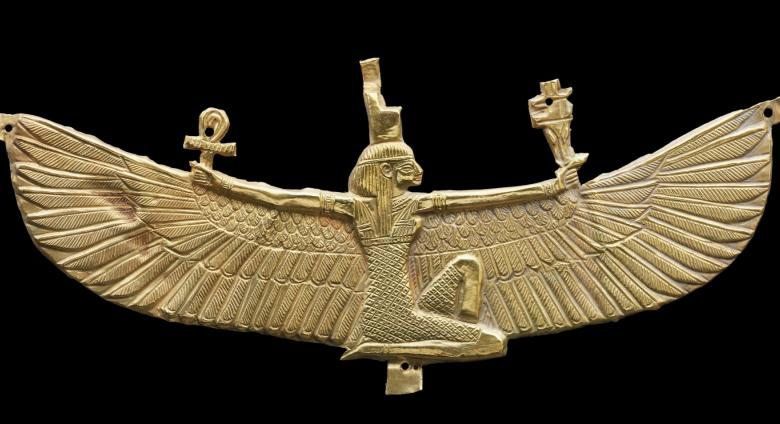 Winged Isis pectoral, 538-519 B.C.E.