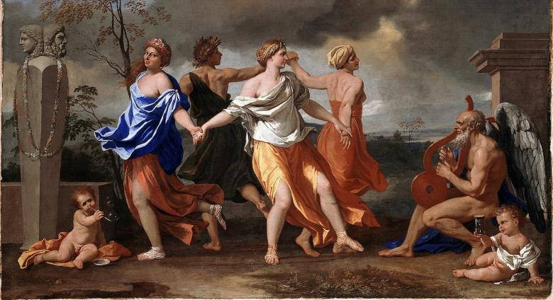 2 Nicolas Poussin, A Dance to the Music of Time, C. 1634-1636