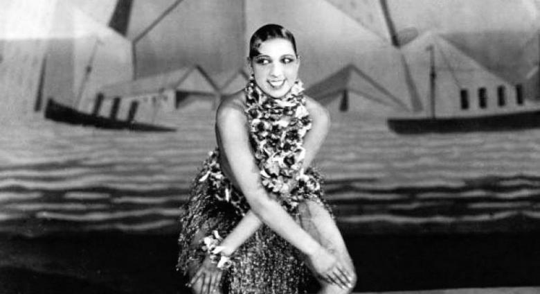 Josephine Baker performing the Charleston