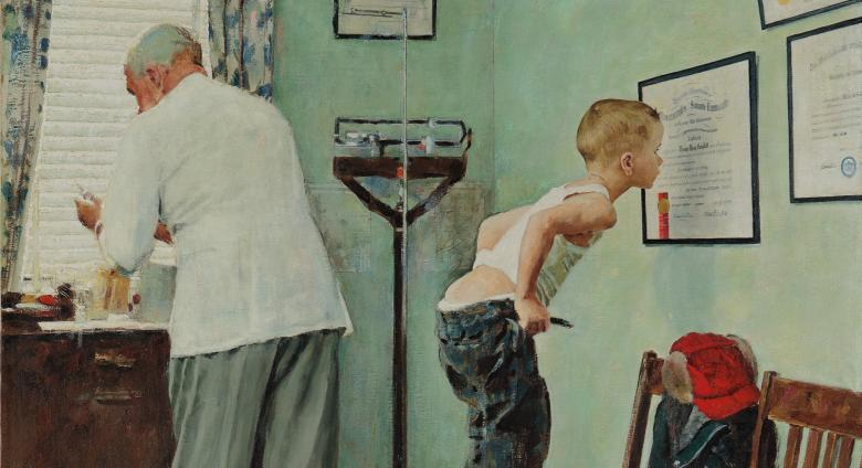 Norman Rockwell, Before the Shot
