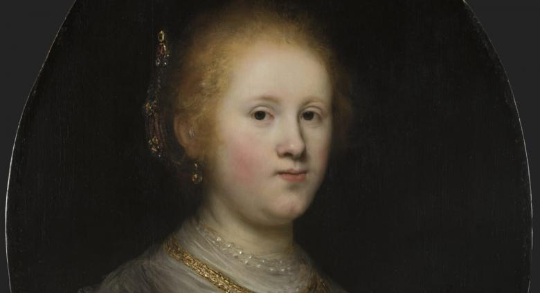 Rembrandt portrait of a woman from the Allentown Art museum