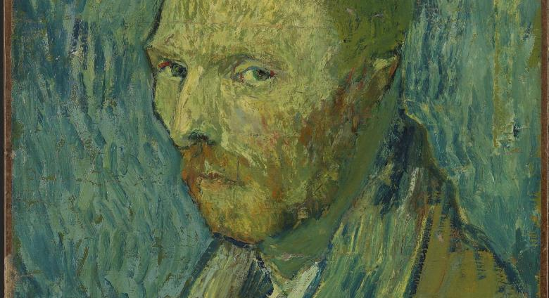 Vincent van Gogh, Oslo Self-portrait, 1889.