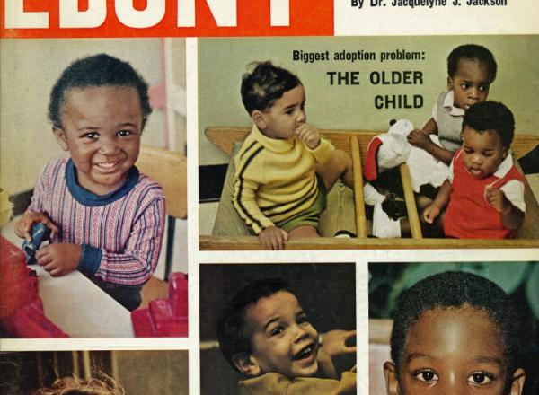 Ebony Magazine, March 1972, Vol 27, No. 5, Black Children & Adoption