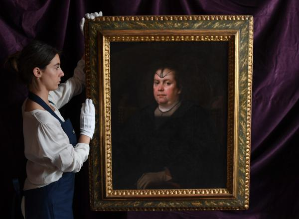 Re-discovered after nearly 300 years, Diego Velázquez's portrait of Olimpia Maidalchini Pamphilj