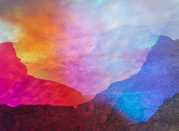 Terri Loewenthal, Psychscape 45 (Peach Springs Canyon, AZ), 2018. Archival pigment print, 30 x 40 inches, Edition of 3 + 2AP