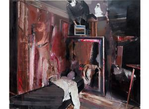 Adrian Ghenie, The Collector 4. Estimate: £1,000,000-1,500,000. Image courtesy of Phillips.