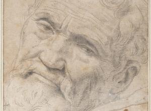 Daniele da Volterra (Italian, c. 1509–1566), Portrait of Michelangelo, c. 1550–51.