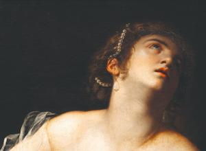Artemisia Gentileschi, Lucretia. Offered by Artcurial November 13.