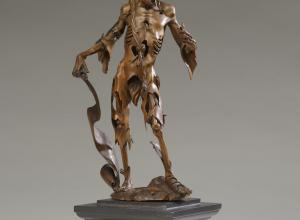 Attributed to Hans Leinberger,Figure of Death, Memento Mori, c. 1520.
