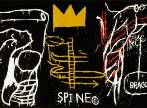 Jean-Michel Basquiat, Back of the Neck, 1983