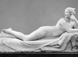 antonia canova naiad neoclassical sculpture