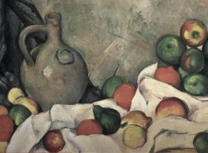 Cezanne Still Life Detail