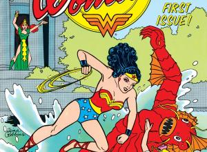 Trina Robbins, Cover of The Legend of Wonder Woman. No. 1, DC Comics, 1986.