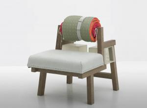 design, chair, made of multiple materials