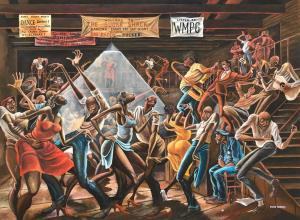 Ernie Barnes, The Sugar Shack, 1976.