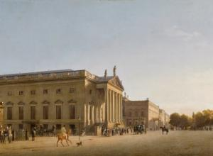 Gaertner Opera House Berlin Painting