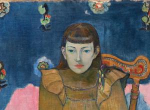Gauguin portrait of a girl